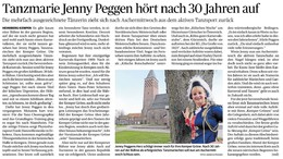 Jenny Peggen hört nach 30 Jahren auf