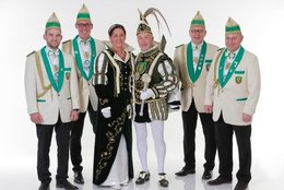 Prinzenpaar Session 2018/2019: Prinz Rainer I. und Claudine Schiffers